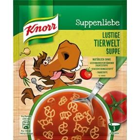 Knorr Suppenliebe Lustige Tierwelt Suppe