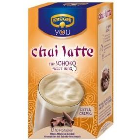 Krüger Chai Latte Sweet India Typ Schoko 10x 25 g