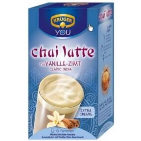 Krüger Chai Latte Classic India Typ Vanille-Zimt