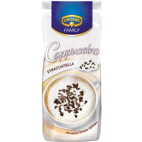 Krüger Family Cappuccino Stracciatella im Nachfüllbeutel