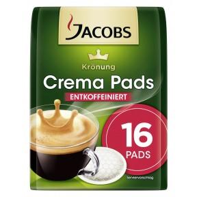 Jacobs Krönung Crema Pads entkoffeiniert