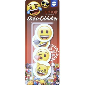 Küchle Deko-Oblaten Emoji
