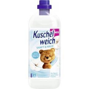 Kuschelweich Weichspüler Sanft & Mild 1L 31WL