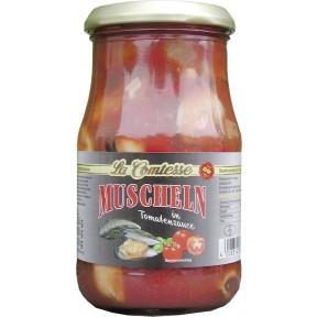 La Comtesse Muscheln in Tomatensauce