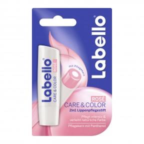 Labello 2 in 1 Lippenpflegestift Care & Color Rosé
