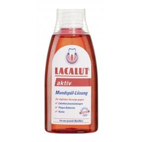Lacalut Aktiv Mundspül-Lösung 300 ml