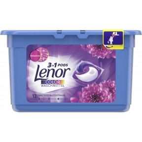 Lenor 3in1 Pods Colorwaschmittel Amethyst Blütentraum 0,316 kg 12 WL