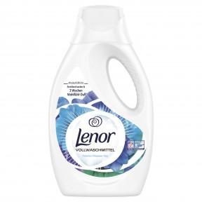 Lenor Vollwaschmittel Flüssig Weiße Wasserlilie 935 ml