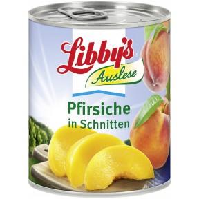 Libbys Pfirsiche in Schnitten