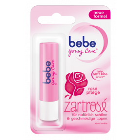 bebe Young Care Lippenpflegestift Zartrosé