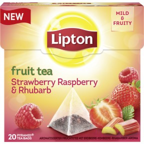 Lipton Fruit Tea Strawberry, Raspberry & Rhubarb