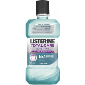 Listerine Total Care Sensitive Mundspülung Clean Mint