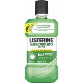 Listerine Zahn & Zahnfleischschutz Mundspülung Fresh Mint