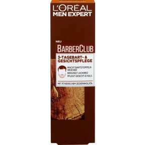 Loreal Men Expert Barber Club 3-Tage-Bart- & Gesichtspflege 50 ml