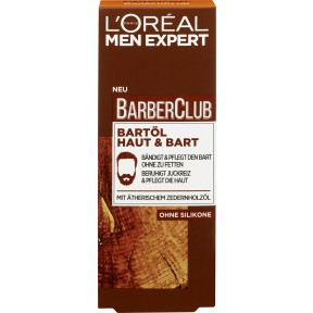 Loreal Men Expert Barber Club Bartöl Haut & Bart 30 ml