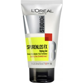 L'Oreal Studio Line Spurenlos FX Styling Gel - Stärke 8 150 ml