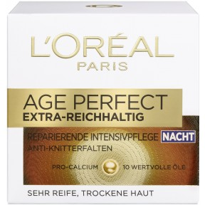 Loreal Age Perfect extra reichhaltig reparierende Intensivpflege Nacht
