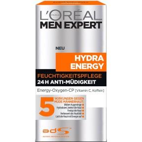 Loreal Men Expert Hydra Energy Feuchtigkeitspflege 24H-Anti-Müdigkeit