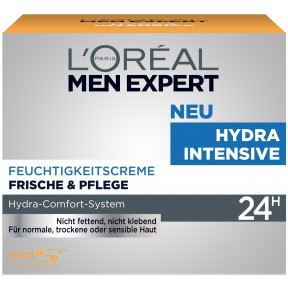 L'Oréal Men Expert Hydra Intensive Feuchtigkeitscreme 24H 50 ml