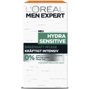L'Oréal Men Expert Hydra Sensitive Birkensaft Pflege Kräftigt Intensiv 50 ml