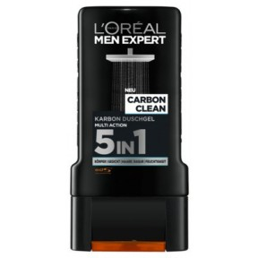 L'Oréal Men Expert Carbon Clean 5in1 Duschgel 0,3 ltr