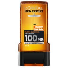 L'Oréal Men Expert Hydra Energy Taurin Duschgel 0,3 ltr