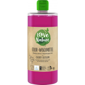 Love Nature Cherry Blossom Colorwaschmittel flüssig 960ML 20WL