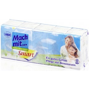 Wepa Mach mit... Taschentücher smart 15x10 Stück
