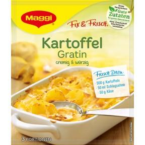 Maggi Fix & Frisch Fix für Kartoffel Gratin