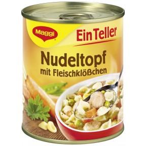 Maggi Ein Teller Nudeltopf mit Fleischklößchen 325 g
