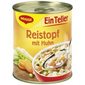 Maggi Ein Teller Reistopf mit Huhn 325 g