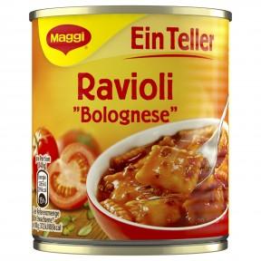 Maggi Ein Teller Ravioli Bolognese 340 g