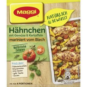 Maggi Natürlich & Bewusst Ofen-Hähnchen vom Blech 27 g