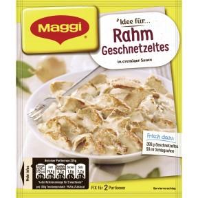 Maggi Idee für Rahm Geschnetzeltes 42 g