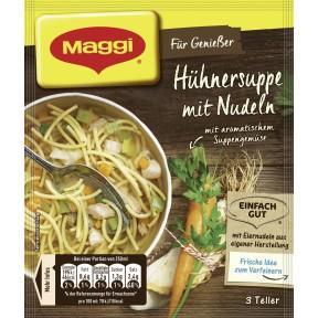 Maggi Für Genießer Hühnersuppe mit Nudeln ergibt 750 ml