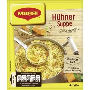 Maggi Guten Appetit! Hühner Suppe ergibt 1 ltr