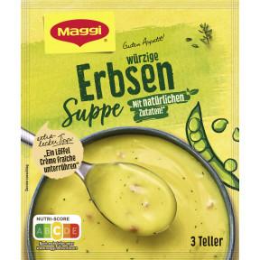Maggi Guten Appetit Würzige Suppe Erbsen ergibt 750ML