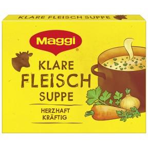 Maggi Klare Fleisch Suppe ergibt 4x 1 ltr