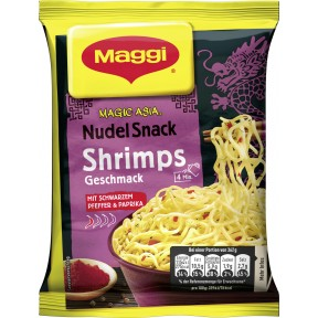 Maggi Magic Asia Nudel Snack Shrimps 62 g