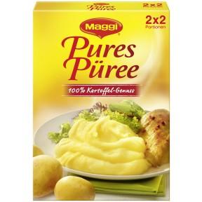 Maggi Pures Püree 100% Kartoffel-Genuss 2x 60 g