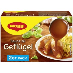 Maggi Sauce zu Geflügel ergibt 2x 250 ml