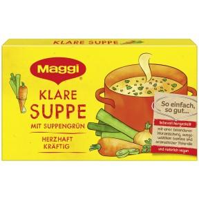 Maggi Klare Suppe mit Suppengrün ergibt 8x 1 ltr