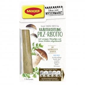 Maggi Wochenmarkt Würzmix Kräuterseitling Pilz-Risotto