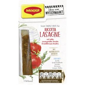 Maggi Wochenmarkt Würzmix Ricotta Lasagne