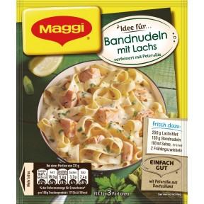 Maggi Idee für Bandnudeln mit Lachs 40 g