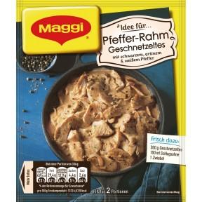 Maggi Fix & Frisch Fix für Pfeffer-Rahm Geschnetzeltes