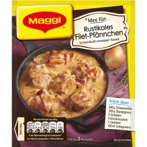 Maggi Idee für Rustikales Filet-Pfännchen 33 g