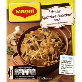 Maggi Idee für Spätzle-Hähnchen Topf 48 g