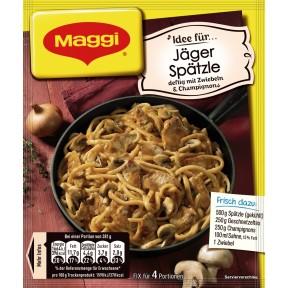 Maggi Idee für Jäger-Spätzle