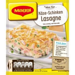 Maggi Idee für Käse-Schinken Lasagne